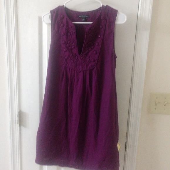 Banana Republic Dresses & Skirts - Deep purple shift dress from banana republic